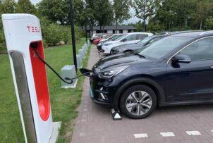 Único Cargador bateria coche electrico