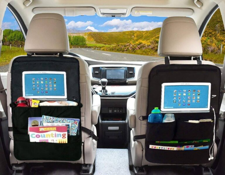 Recomendable Organizador asiento coche el corte ingles