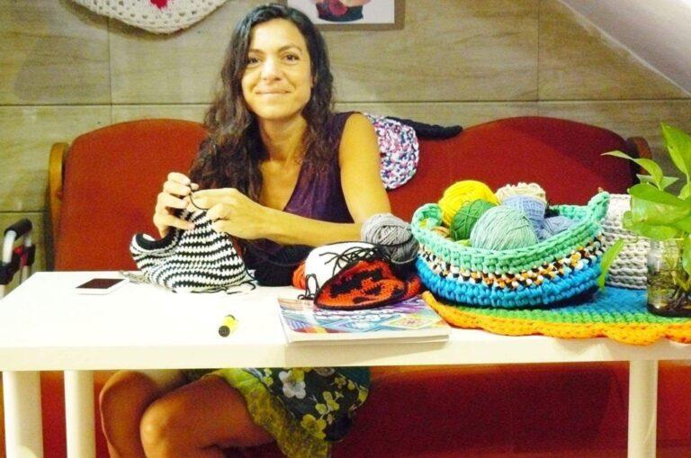 Recomendable Organizador coche crochet