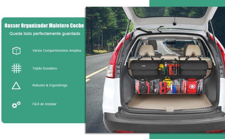Recomendable Organizador maletero coche