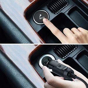 SKEY Compresor Aire Coche, 150 PSI 12V Inflador Electrico,
